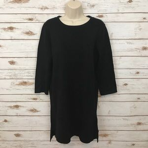 NWT Forever 21 Black Tunic Sweater Dress