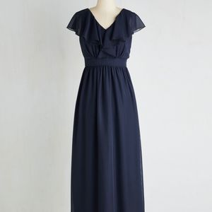 """""""Always on the Movement"""" navy Modcloth dress"""
