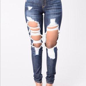 NWT fashion nova skinny jeans