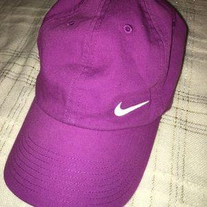 Purple Womens Nike hat