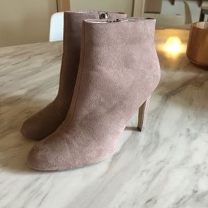 F21 tan suede booties! Size 6!