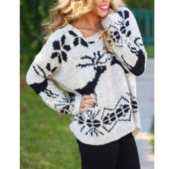 68% off Urban Outfitters Sweaters - •a'reve• Oversized Grey ...