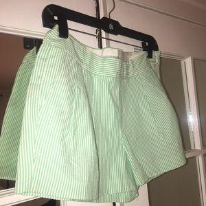 Seer sucker shorts