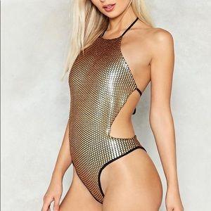 Nasty Gal Sweet Like Honey Backless Bodysuit