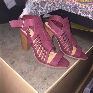 Shoes - Maroon Heels