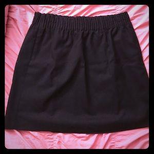 J. Crew Sidewalk Black Skirt Size 12