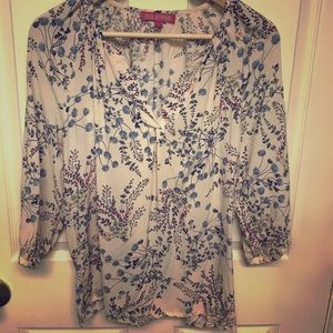 Rose and Thyme blouse