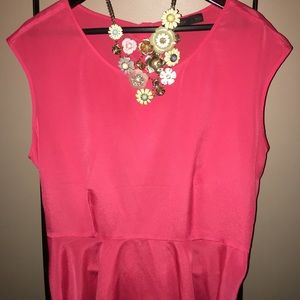 XL Limited coral top