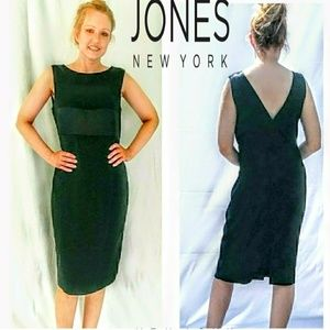 Jones New York sexy black dress.