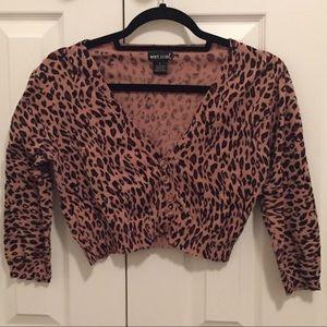Wet Seal crop sweater