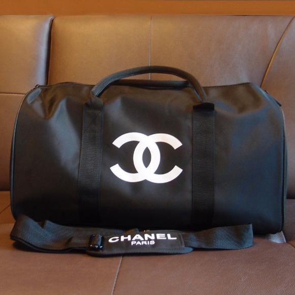 e5712ec910d9 CHANEL Bags | Travel Bag Vip Gift Bag Gym Weekend Duffle | Poshmark