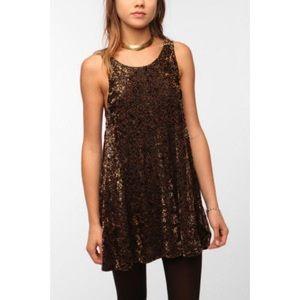 MINKPINK Look But Don't Touch Velvet Dress