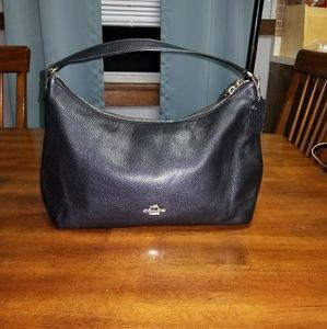 Coach Black Handbag/Shoulder Bag