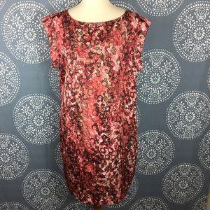Anne Klein Watercolor Shift Dress