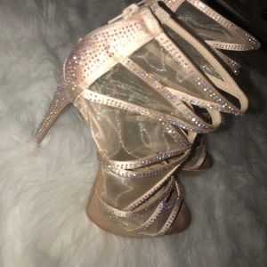 Steve Madden Rhinestone Sparkly Heels