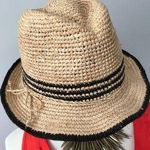 GAP Straw Fedora Hat.