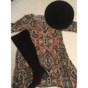 Dresses & Skirts - Boho Paisley Dress