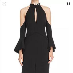 C//MEO TOO CLOSE Cold shoulder dress