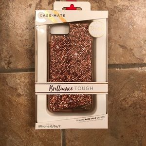 Case Mate Rose Gold Crystal iPhone 6/6s/7