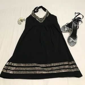 Dresses & Skirts - Cute black and silver dress