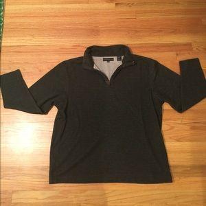 Dark grey zip up