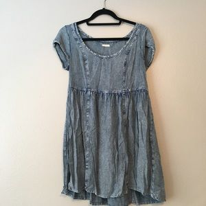 Ecote acid wash dress