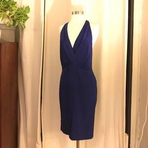 Ali ro cobalt blue silk dress 4