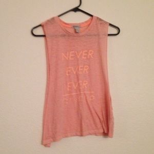 NWOT Forever 21 Workout Tank Top