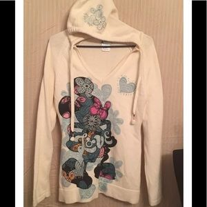 Disney Parks Jacket Coat Hoodie Pullover Medium M