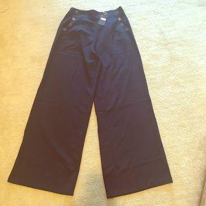 NWT Hot & Delicious Wide Leg Sailor Pants