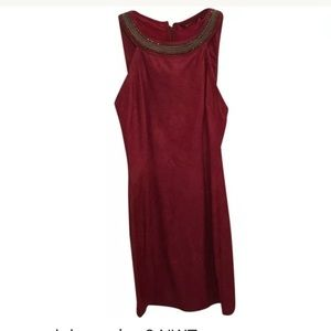 Guess red dress nwt size 2