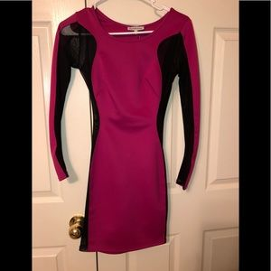 Sexy fushia boycon dress!