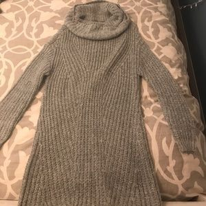 Gray Charlotte Russe sweater dress