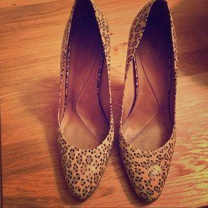 All Saints Leopard Heels