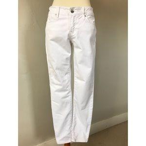 GAP Always Skinny White Jeans Size 28 Petite