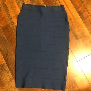 Blue Bebe bodycon skirt ❄️