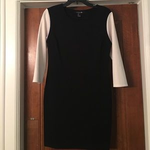Forever 21 Large EUC women's black dress