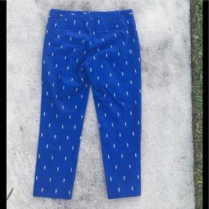 Banana Republic Blue Seahorse Pants