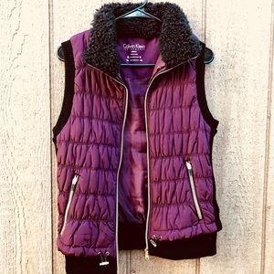 Purple Calvin Klein vest