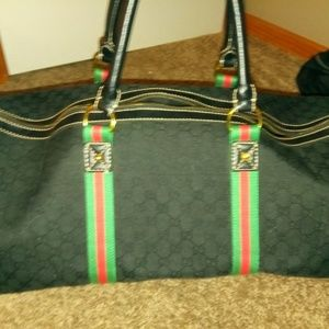 100% authentic Gucci duffle bag