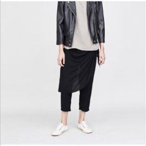 Oak side seam panel pants