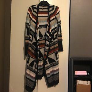 Free People Aztec print sweater