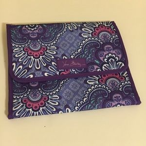 Vera Bradley Stow and Go Jewelry in Lilac Tapestry