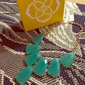 NWT Kendra Scott Harlow necklace turquoise