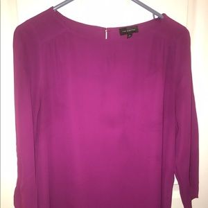 Fuchsia medium blouse from The Limited