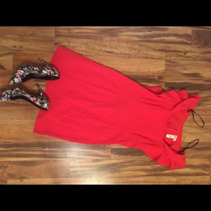 Dresses & Skirts - Emma & Michele Red Cocktail Dress #DateNight