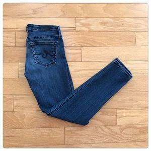 AG, The Stevie-Slim Straight Leg Jeans!