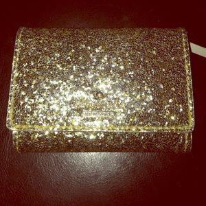 New!Kate Spade Glitter Bug Darla Small Wallet
