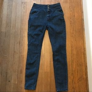 UO BDG Super High Rise Twig Ankle Jeans Size 27