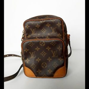 💯% 💞Louis Vuitton Monogram Amazon Crossbody Bag.